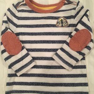 Boys Oshkosh shirt with elbow patches